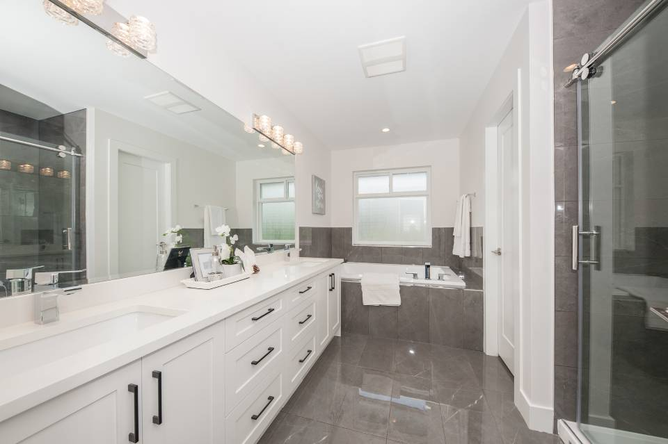 Bathroom interior view