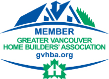 Member of the Greater Vancouver Home Builder's Association